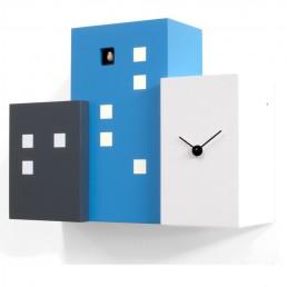 """""""Walls Cucu"""" Cuckoo Clock - Black, Blue & White"""