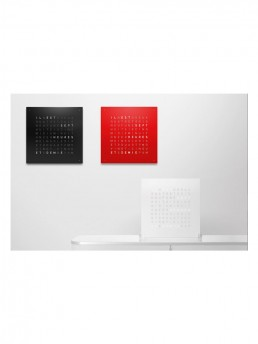 QLOCKTWO Wall Clock Time In Words
