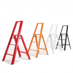 3-Step Stool Ladder - Group- Lifestyle Photo