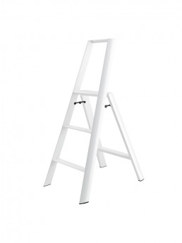 3-Step Stool - White