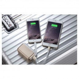 Top Gum Mobile Device Battery Back-up - Gold Multi Device Charging