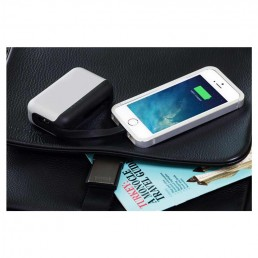 Top Gum Mobile Device Battery Back-up - Silver Charging iPhone