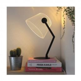 Ambient Light ZIGGi Lamp In Black Finish by Bulbing