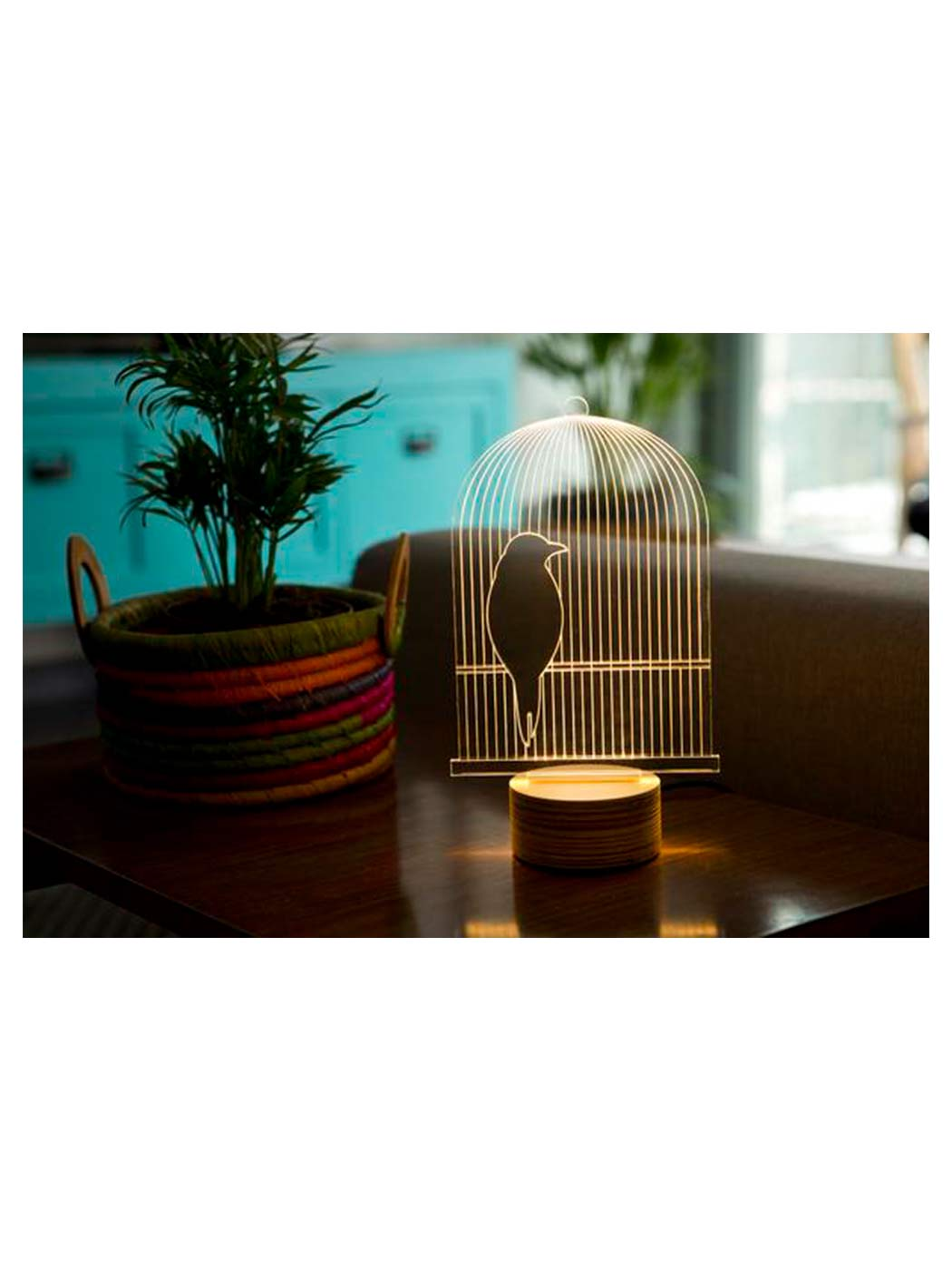 Birdcage lamp atys led birdcage table lamp aloadofball Image collections