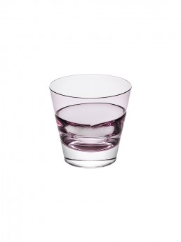 Wine Red Duo Old Fashioned Glass