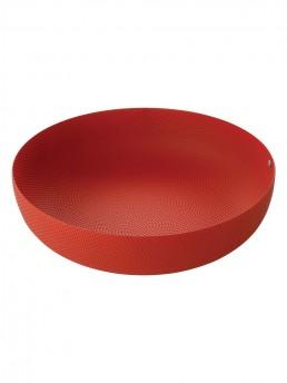 Large red basket bowl by Jasper Morrison