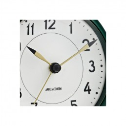 station table clock arne jacobsen racing green 3