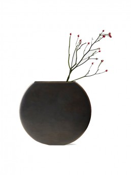 Brass Moon Vase by Menu