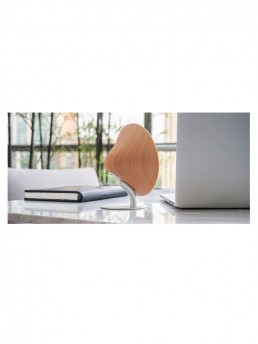 mini halo one bluetooth speaker beech finish