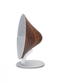 Mini Halo One Bluetooth Speaker - Beech Wood Finish