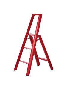 3-Step Ladder - Red