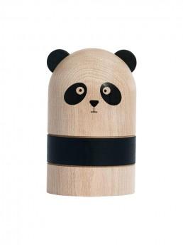 Wooden Panda MoneyBank
