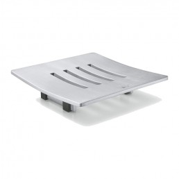 Abbaco Square Stainless Steel Soap Dish
