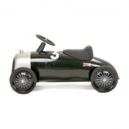 Scooting around the driveway or even your large open loft with the Rider Heritage Bentley Toy Car - take the level of fantasy driving to new heights with this design-focused heritage auto toy.