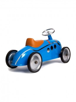 Scooting around the driveway or even your large open loft - takes the level of fantasy driving to new heights on the Ride-On Peugeot Darl'Mat Toy Car a design-focused heritage auto toy.