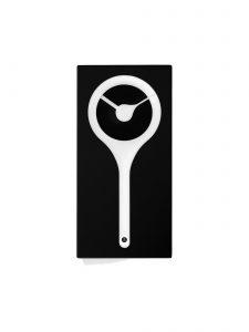 Italian Handmade Koo-Koo Cuckoo Clock in Black and White