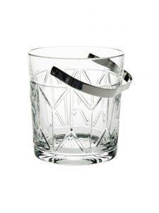 1930's Inspired Avenue Crystal Crystal Ice Bucket by Vista Alegre
