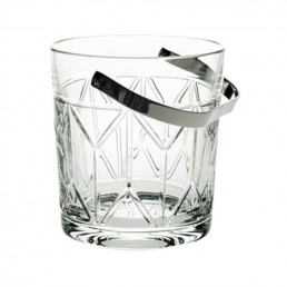 1930's Inspired Avenue Crystal Crystal Ice Bucket by Vista Alegre