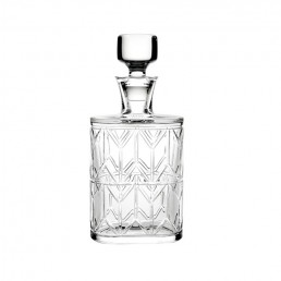 1930's Inspired Avenue Crystal Whiskey Decanter by Vista Alegre