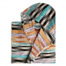 Colorful Missoni Ywan 159 Hooded Bathrobe