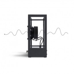 transparent speaker small black details 2 1
