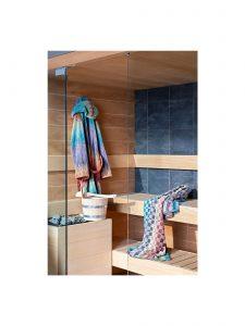 Colorful Missoni Yaco-159 Bathrobe & Towels