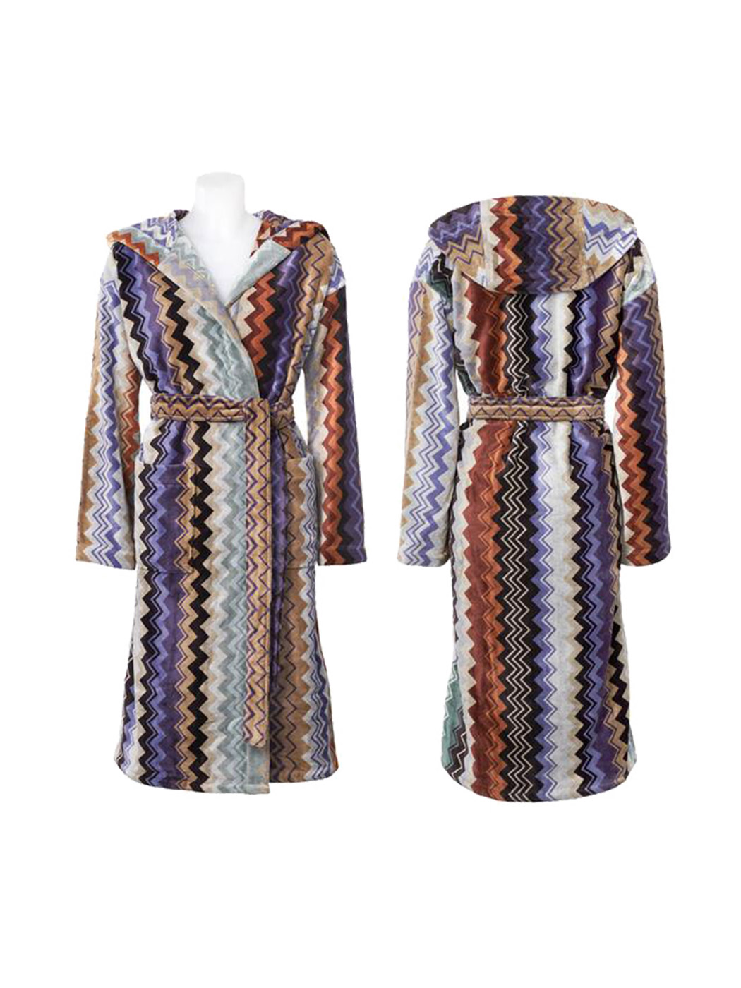 bathrobe giacomo 165 bathrobe missoni