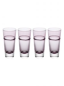duo tall tumbler sugahara wine red set of 4