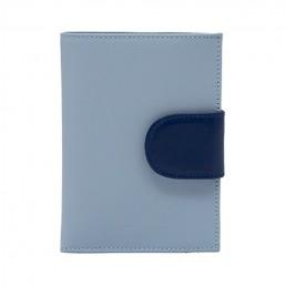 in the clouds wallet hester van eeghen grey blue & dark blue open