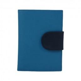 in the clouds wallet hester van eeghen turquoise & blue closed