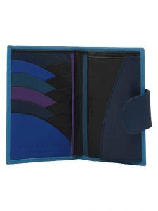 in the clouds wallet hester van eeghen turquoise & blue open