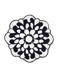 otil 601 bath mat missoni black & white