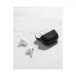 airpods pro case black courant open